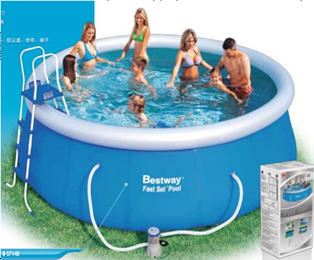Easy Set Bestway Swimming Pool For Family - Buy Plastic Swimming Pools,Pvc  Swimming Pools,Easy Set Pvc Pool Product on Alibaba.com
