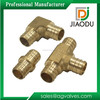1/2 inch lead free compression coupler threaded brass pex elbow pipe fittings