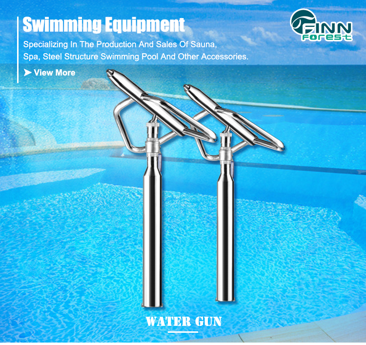 Stainless Steel 304/316 Kids Pool Playing Water Cannon Swimming Pool Park