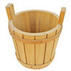 hot selling FSC&ISO9001 OEM home decorative wooden flower gift bucket for wedding decorating