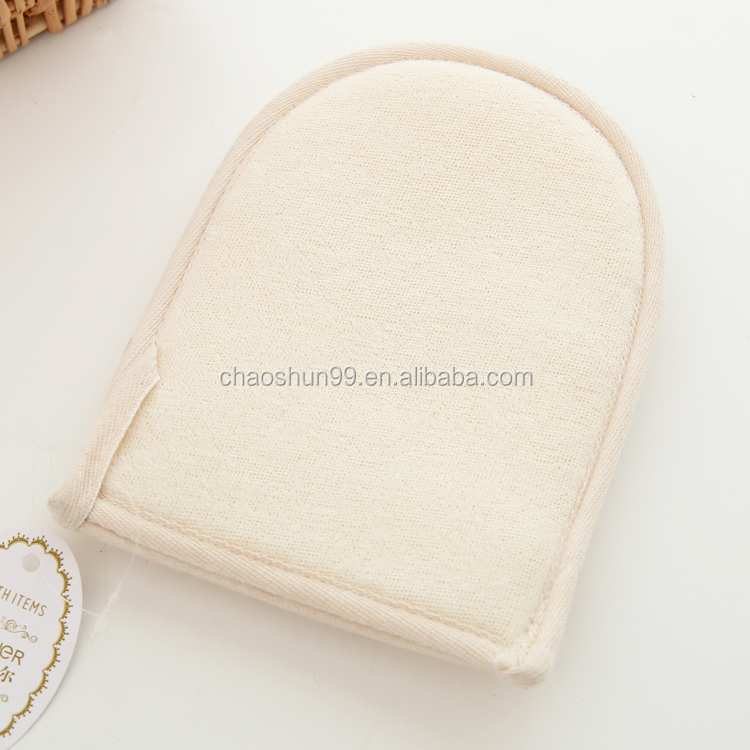 Natural Loofah Mitt Bath Glove Bath Mitt