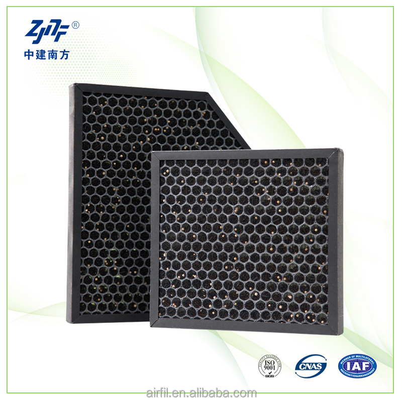 cocoshell honeycomb activated carbon air filters for air purifier replace