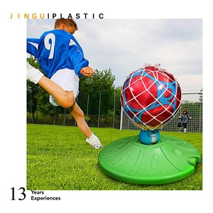 2019 New Football/Soccer Exercise/Training Equipment/Tools Ball With Sucking Disc Foundation Fill With Sand Indoor/Outdoor