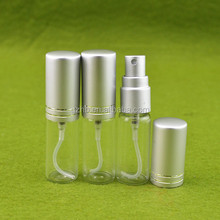 new product 5ml electric aluminum bottle for perfumes and fragrances