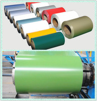 Color coated steel ppgi ppgl prepainted galvanized steel coil 600-1250mm