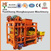 brick making machines and construction equipments for QTJ4-25C Exporter of Concrete Block Machine & Solid Block Making