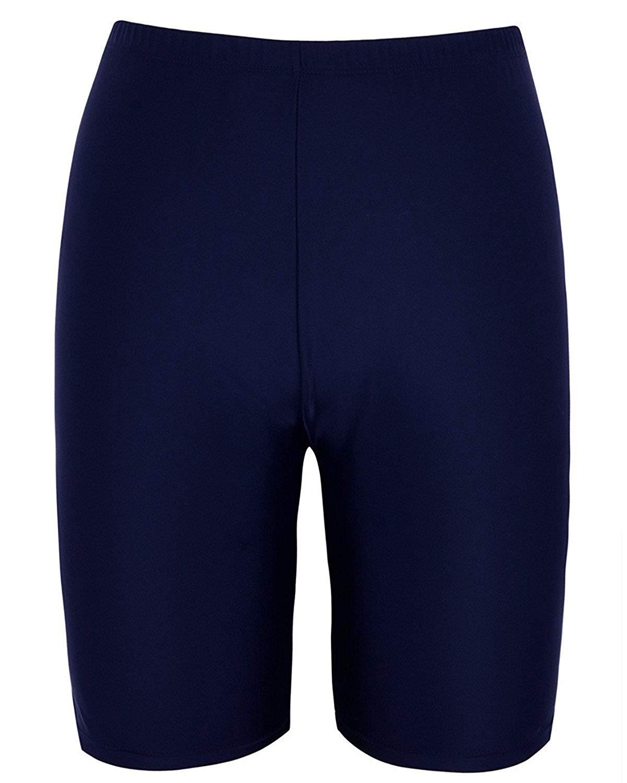 4444e7c84e85 Get Quotations · Stella Women's Board Shorts Boy Leg Swim Shorts Bikini  Bottom Boy Shorts