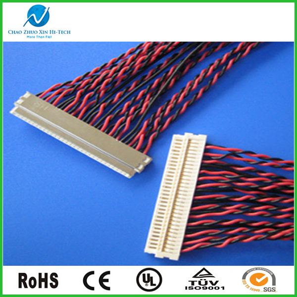 30 pin LVDS LCD Cable for Monitor,Experienced Staff