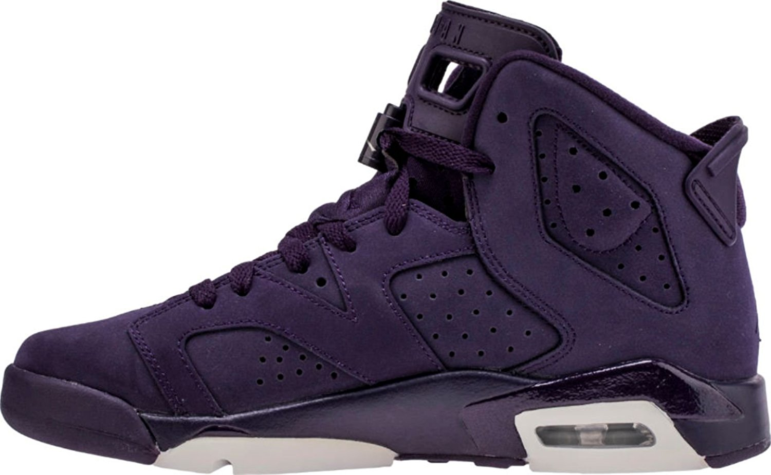 Nike Air Jordan 6 Retro G.s Youth Big Kids Purple Dynasty White 543390-509