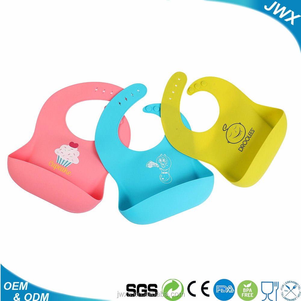 OEM Produce Durable and Soft Baby Pinafore, Hot Sale Silicone Pinny for kid