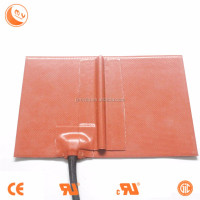 Custom Made 240V 600 x 600MM 500W Silicone Rubber Heated Hot Bed/Pad/Mat/Plate For 3D Printer