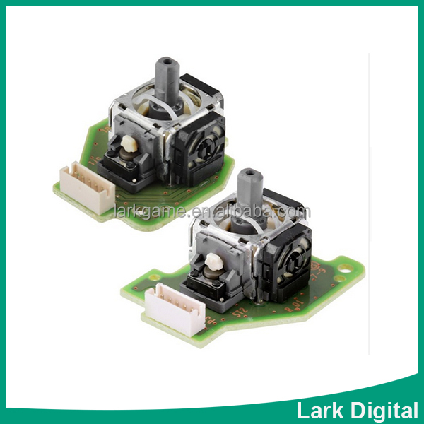 3D Analog Stick with PCB Board for Wii U GamePad Controller Left Right Set