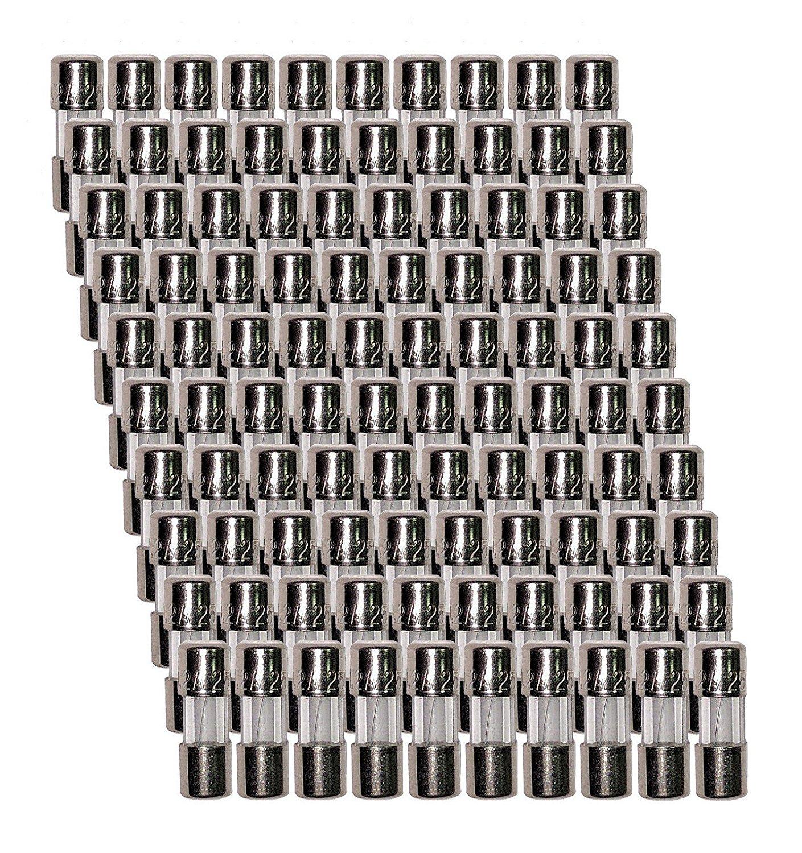 100 Qty. Divine Lighting 3.6x10mm 500mA Fast Blow Fuse FA .5 ma 250v Mini Micro 3.6x10mm 500mA Fast-Blow Fuse. FA 500ma 250v Glass 3.6 x 10 mm