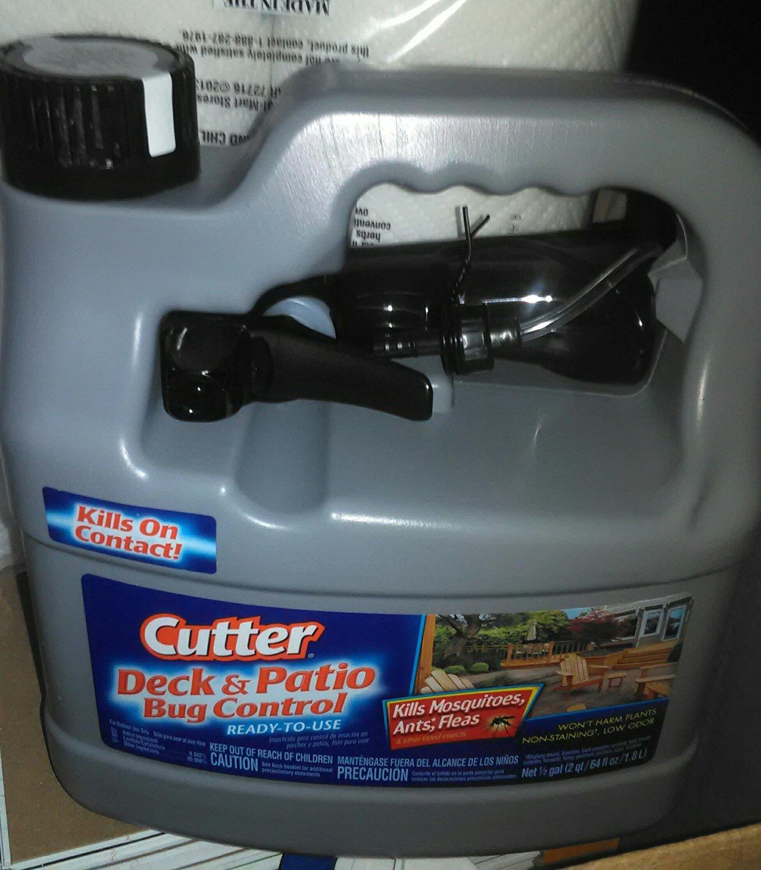 Perfect Cutter Backyard Deck U0026 Patio Bug Control Outdoor Mosquito Killer Spray, 1/2  Gallon