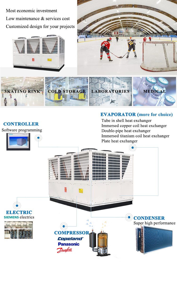 Ultra low temperature chiller function optional
