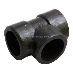 Sample Free Carbon Steel Tube Fittings Forged Socket Weld Y Tee Pipe Fitting