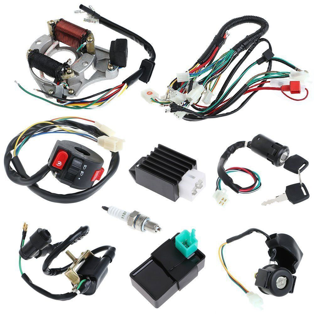 wiring harness kit for atv atv wiring harness cdi assembly wiring kit for atv electric quad  atv wiring harness cdi assembly wiring