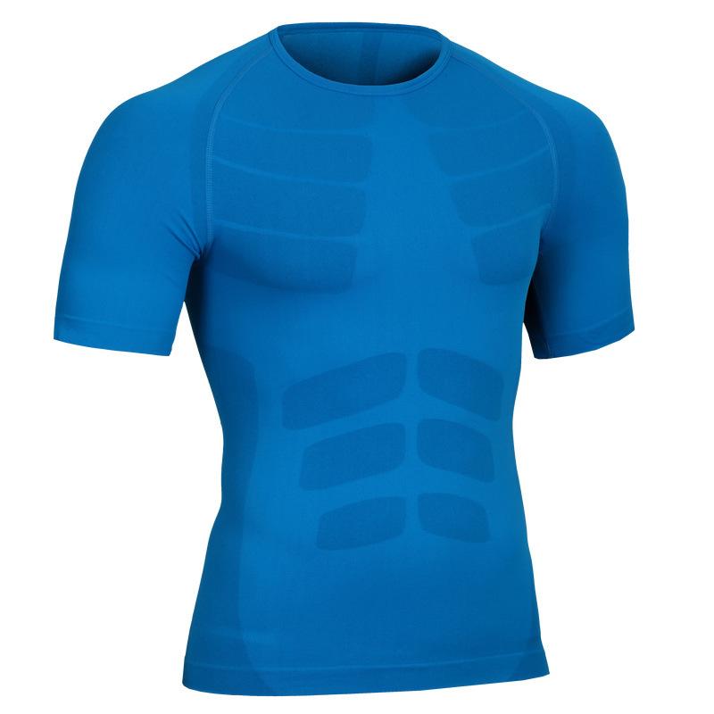 Men's Quick Dry Short Sleeve T-Shirt Running Fitness Shirts 6