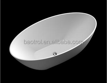 Vasca Da Bagno Uovo : Bianco marmo artificiale pietra forma di uovo piccole vasche