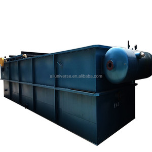 Laundry wash waste water treatment and recycle plant DAF machine