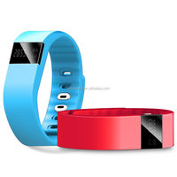 Tw64 silicone Fitness Activity Tracker bluetooth vibrating bracelet smart bluetooth watch