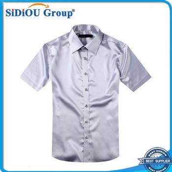 Overhemd Hoge Boord Heren.Heren Zijden Hoge Kraag Geborduurd Overhemd Buy Geborduurde Jurk
