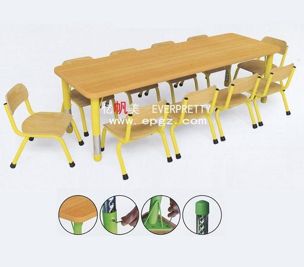 Miraculous Children Furniture School Kids Party Table And Chair For Group Teaching Preschool Furniture Wooden Round Edge Desk With Chairs Buy Kids Party Table Evergreenethics Interior Chair Design Evergreenethicsorg
