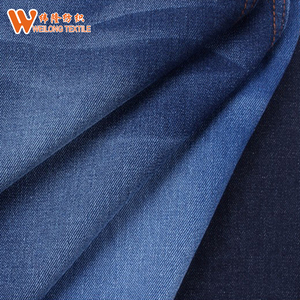 "66/67"" 100% cotton indigo blue denim jeans fabric"