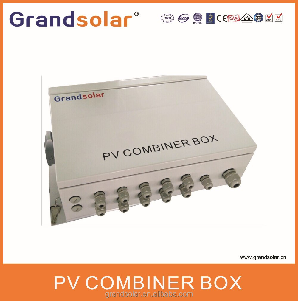 5 IN 1 OUT PROFESSIONAL GRID TIE PV COMBINER BOX WITH ANTI-THUNDER