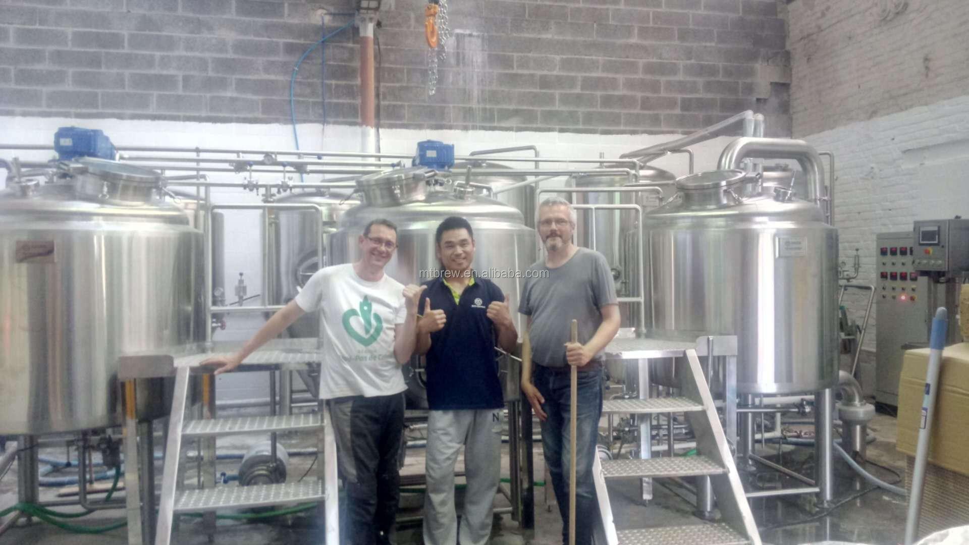 UK wholesale 500L Turkney Mash tun/Lauter tank Boil Kettle/Whirlpool tank HWT fermenters craft beer brewing equipment