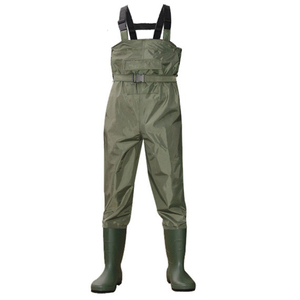 Hotsales waterproof working fishing 70D 100%waterproof Nylon fishing chest wader