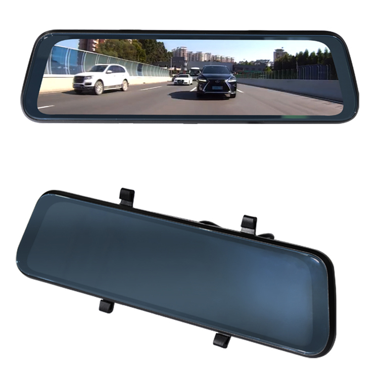 9.7 Polegadas Espelho de Streaming de Vídeo 1080 P Full HD Câmera Do Carro DVR Monitor de Retrovisor