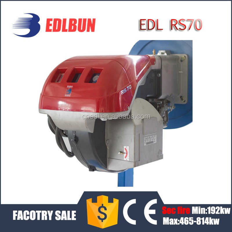 EDL RS70 70KW Natural Gas LPG Gas burners industrial boiler parts for bolier or pizza oven