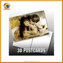 souvenir postcard 3d postcard supplier 3d paper postcard 3d postcard of cartoon figure 3d lenticular post card