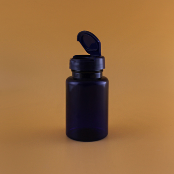 FDA Approval 33 Years Manufacture Custom Free PET 120ml plastic Pill Bottles With Flip Top Cap