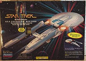 Star Trek The Movie Collection VERY RARE U.S.S. Excelsior Class Starship NCC- 2000