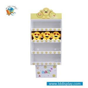 New product custom design 4C/4Color printing paper children toys cardboard display stand
