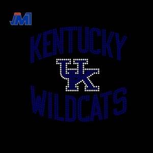 wholesale kentucky wildcats hot fix rhinestone transfer design