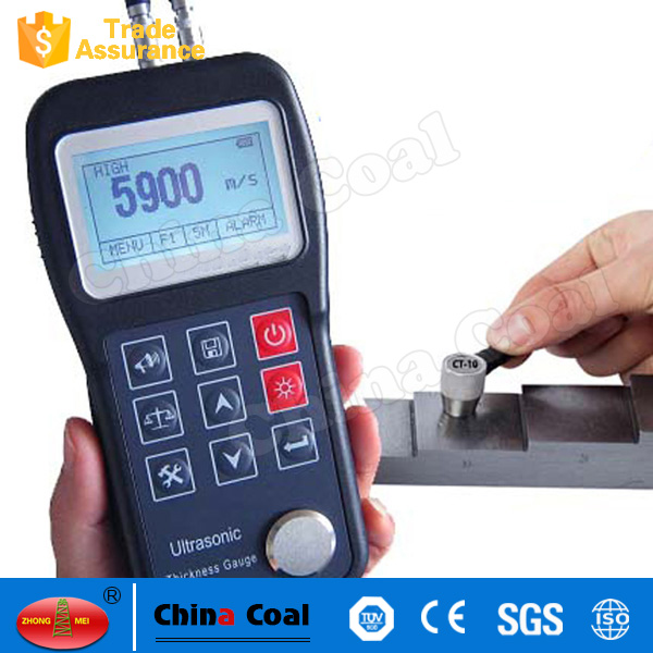 Handheld Digital Portable Metal Sheet Ultrasonic Thickness Gauge Meter