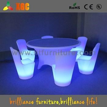 Tavoli In Plastica Per Bar.Acrilico Luminoso Di Plastica Sedie E Tavoli Per Bar Usato Fondo