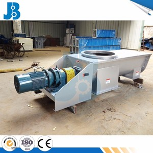 Customed made grain silo auger screw for grain transport