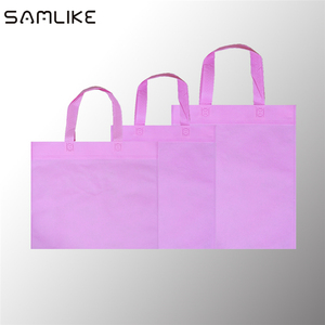 Large Capacity Customized Supermarket Tote Bag Carry Bag Non Woven Bag