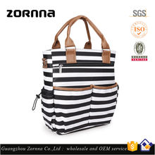 ZORNNA Newest Fashion Multi Function High Capacity Travel Outside Maternity And Baby Nappy Mummy Diaper Bag