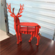 hot selling wood deer office table decoration item