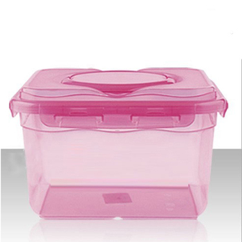 10L Clear Plastic Food Storage Box with Dividers and Handle Wholesale  sc 1 st  Alibaba & 10l Clear Plastic Food Storage Box With Dividers And Handle ...