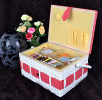 Sewing Kit Accessorie With Small Sewing Basket