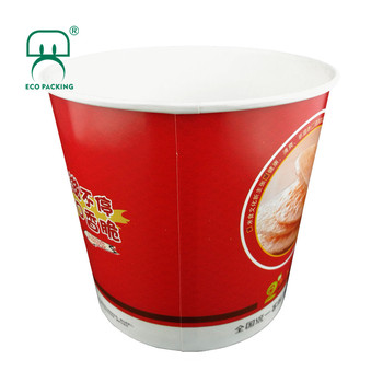 130oz 3800ml 300pcs/ctn fried chicken bucket