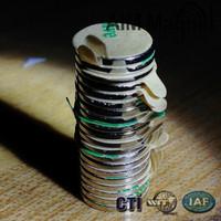 N52 neodymium Nickel plated D12 x 1mm magnet