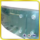 Clear Glass Curved Clear Float Curved Tempered Glass 5mm 6mm 8mm 10mm Curved/bent Toughened Glass