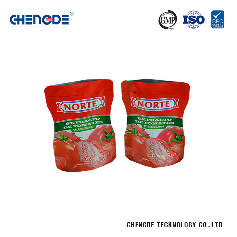 Wholesale plastic food bag custom plastic standing bags